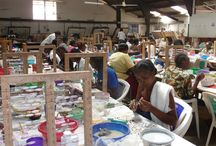 What makes Kazuri Beads Special / Kazuri began in 1975 as a tiny workshop experimenting on making ceramic beads made by hand. We are supporting single women and are a recognized Fair Trade Company!