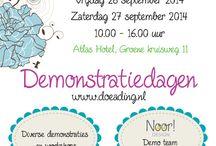 Demodagen 14 (Atlas Hotel 1) / Demonstraties in het Atlas Hotel van Doe@ding op vrijdag 26 september 2014 van 10.00 uur tot 16.00 uur.