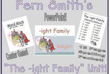 Fern Smith's Classroom Ideas Word Work Bundles / by Fern Smith