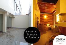 Antes y Despues - Oniria Arquitectura / Antes y despues de nuestros proyectos