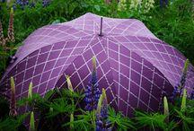 Purple & Lilac Parasol / Umbrella