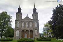 Quebec Churches / A collection of screenshots from Google Street View of Churches you can find in Quebec.