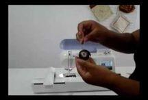 limpando maquina de bordar