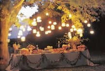 Outdoor spaces and flowers