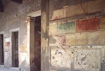 Pompeii Frescoes / KDZ Designs' blog post: Frescoes from the Four Style periods in Pompeii:  http://www.kdzdesigns.com/2012/02/the-frescoes-of-pompeii-interior-decoration-in-ancient-rome/