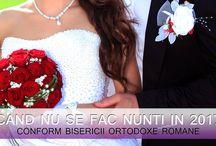 Nunta - Informatii utile