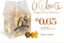 Popcorn favorites!! / Snack