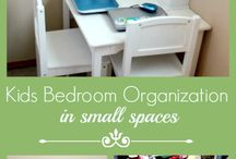 Children's storage space
