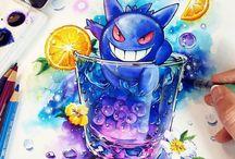 pokemon in drinks