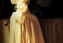 XVIII robe a la chemise / chemise a la reigne, suknia ajak koszula