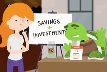 Compound Interest / It pays to start saving today. Compound interest adds up.