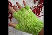 Yarım parmak eldiven