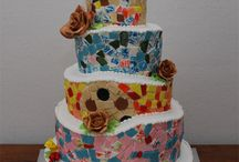 Barcelona Themes Cake