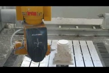 Breton Shapemill videos / 5 axes #stone working centre for #marble, #granite and engineered stone