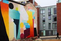 Silos mural