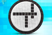Crisscross Cookie / Fun with Oreo, for the love of crossword puzzles!