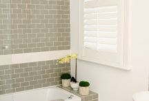 Reno Ideas | Plantation Shutters / Looking at styles for our living room, guest bedroom and home office.