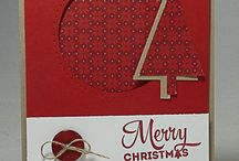 Stampin' Up! Christmas Cards / by Dreaming About Rubber Stamps