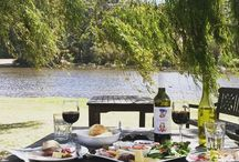 Lunch by the Lake / Take time out and relax and enjoy casual dining with our vineyard gourmet lunches, a glass of wine or sit back with a great coffee and a pice of home made cake.