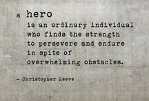 OlleyFin - HEROIC / Here we pin everything we deem heroic or brave or admirable