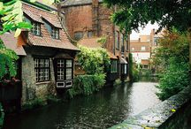"Brugge / My favorite spot in Europe. The ""Venice of the North, the jewel of Belgium, my beloved city of Brugge...."