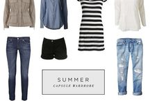 Capsule wardrobe and clothes