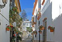 Lugares que visitar / Representación Fotográfica de las distintas calles de Esteponas