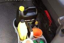 Vehicle Cleaning/Organization