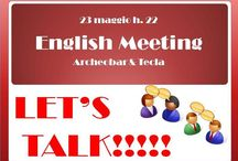 ENGLISH MEETING NAPOLI- LET'S TALK! / Foreign language learners help each other in building confidence in using another language. Participants come to practice a foreign language and make friends in a warm and friendly environment. If you want to spend a nice evening chatting, drinking something, meeting new people, join us! This time we will learn by singing!!!  This is a FREE event, just come along, buy your own drinks and prepare to socialize and swap your language!