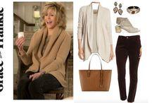 grace and frankie wardrobe
