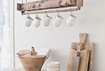 Wooden Kitchen Things