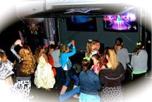 Glamour Parties at Night! / The Rockin' Glamour Lounge is the perfect way to energize your nightlife! Our Rockin' Glamour Parties are perfect for evening celebrations!