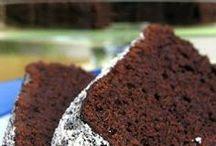 Schokoladenkuchen mit Tonkabohne