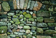 ~ Stone Wall'd ~ / Beautiful, Sturdy...Built In Stages...A Stunning Stone Wall Will Last For Ages.... / by Holly Nelson Rader
