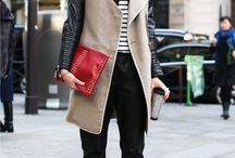 Signature: Creative Director / Versatile outfits for everyday with trendy edge: slouchy pants or shirt-dresses, cropped jackets, ankle boots and bright pumps. / by Heather Eddy