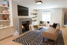 Garden Street Modern Townhouse / Complete gut renovation of 3 story townhouse. J. Patryce was responsible for the entire renovation (custom millwork, all finishes/fixures, lighting, bathroom and kitchen design, etc.).