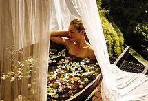 Mini pools/outdoor bath tubs