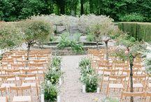 Outdoor Wedding Ceremony Set Ups