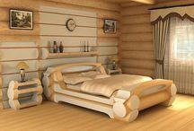 quarto de cama madeira