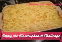 The Empty the Storecupboard Challenge