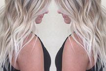 Balayage as blond