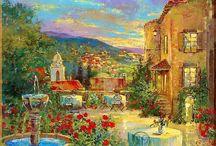 Картины Средиземноморье / Картины жанра Средиземноморье. Прекрасные шедевры и произведения художников