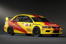 Petr Hozák (Mitsubishi Lancer Evo IX) / Design and wrap.