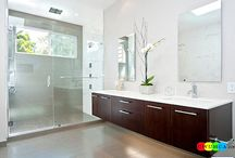 Cool And Cozy Summer Bathroom Style : Modern Seasonal Decor Ideas