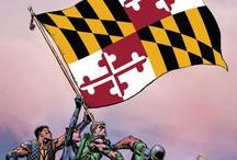 Maryland   State of Maryland   MD / 马里兰州(英语:Maryland),是美国的一州,屬於美國中大西洋地區,其西邊與南邊與西維吉尼亞州、維吉尼亞州、華盛頓哥倫比亞特區接壤,北方是賓夕法尼亞州,東鄰為德拉瓦州。馬里蘭州是第七個通過美國憲法的州,有三個常見的暱稱:老戰線州( the Old Line State)、自由之州(the Free State)、切薩皮克灣州(the Chesapeake Bay State)。本州郵政縮寫為MD。  馬里蘭州也被認為是美國宗教自由的誕生地。[3][4][5] 這可追溯自英國殖民時代早期由George Calvert,第一代巴爾的摩男爵將本州建立為天主教徒的避難處[6][7][8][9]  馬里蘭州是美國土地面積最小以及人口密度最高的州之一。本州最大的城市為巴爾的摩,首府為安納波利斯。雖然官方宣稱馬里蘭州得名自亨利埃塔·瑪麗亞[10],許多歷史學家認為本州名稱是由第一代巴爾的摩男爵1632年去世前依照馬利亞 (耶穌的母親)所命名。[11]不過實情可能難以得知。[12]  馬里蘭州的家戶收入中位數為全美最高,就此而論,其為美國最富裕的州。 首府安那玻里斯 最大城市巴爾的摩市 / by Anthony Cheong