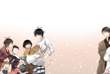 Barakamon and Handa-kun