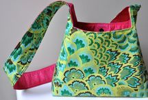 Bag tutorials and sewing tips / by MaryjoOrd