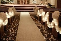 Aisle decoration