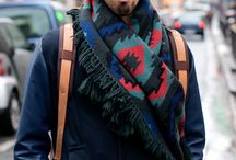 Beards wearing scarves