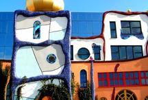 Hundertwasser / architectuur